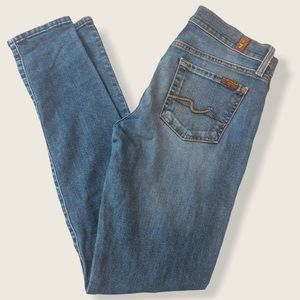 7 For All Mankind Gwenevere Skinny Jean - Size 28